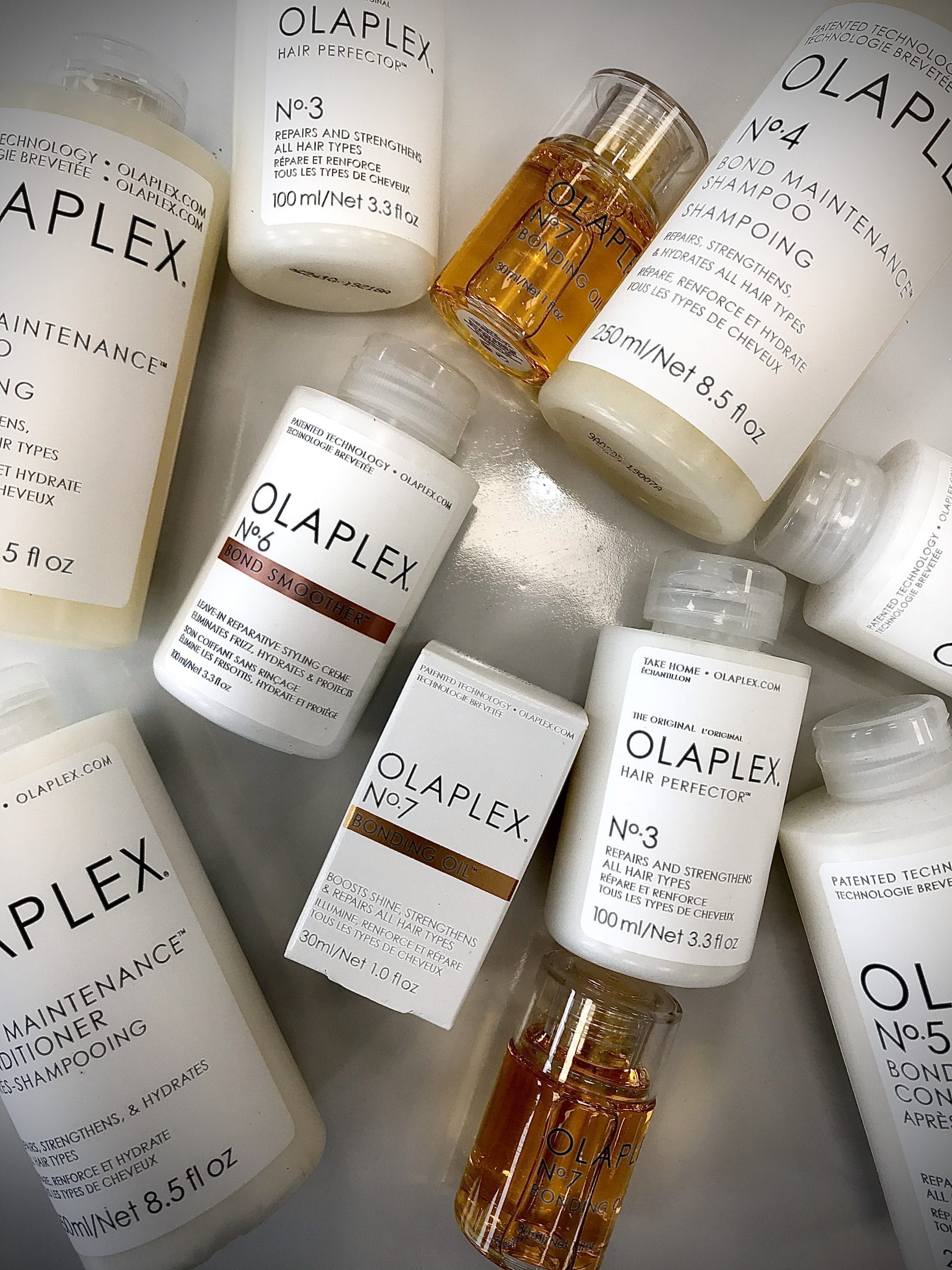 Olaplex products.