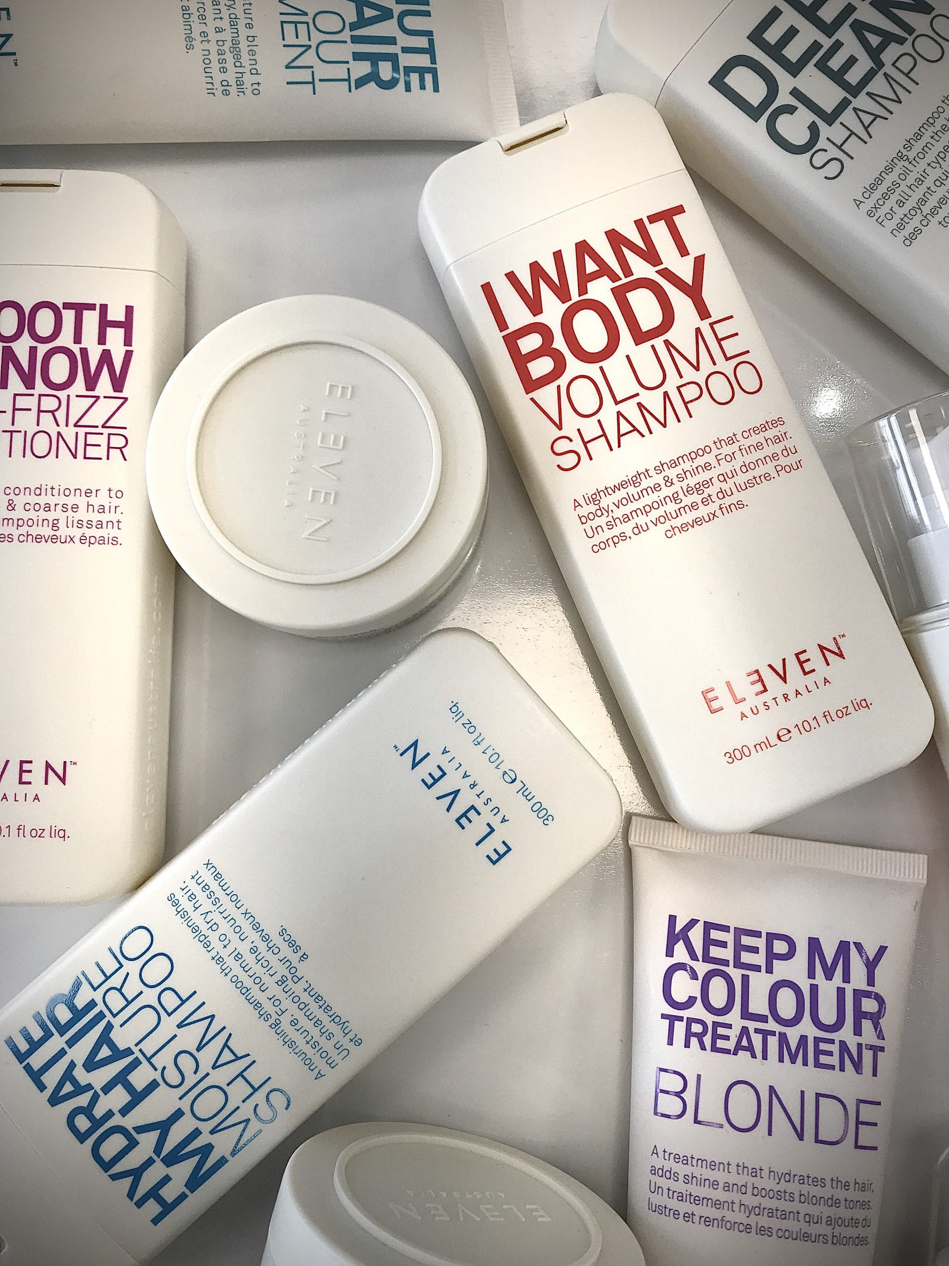 Eleven Australia products.